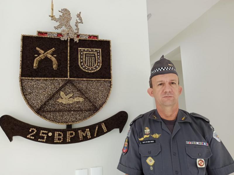 Cedida PM | Tenente assumiu o batalhão de Dracena na última semana