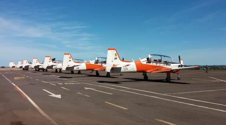 Cedida Willy Tirloni   Aviões utilizaram Prudente para o abastecimento