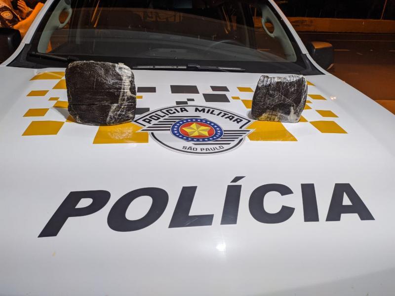 Polícia Militar Rodoviária | Droga estava com um jovem de 16 anos