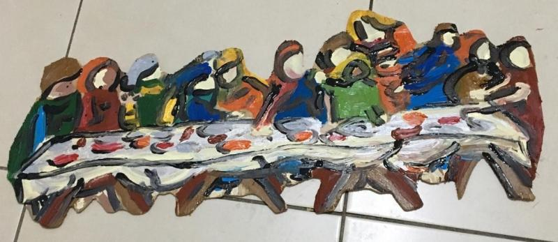Obra em madeira fina de Antonio Cláudio Bongiovani Filho