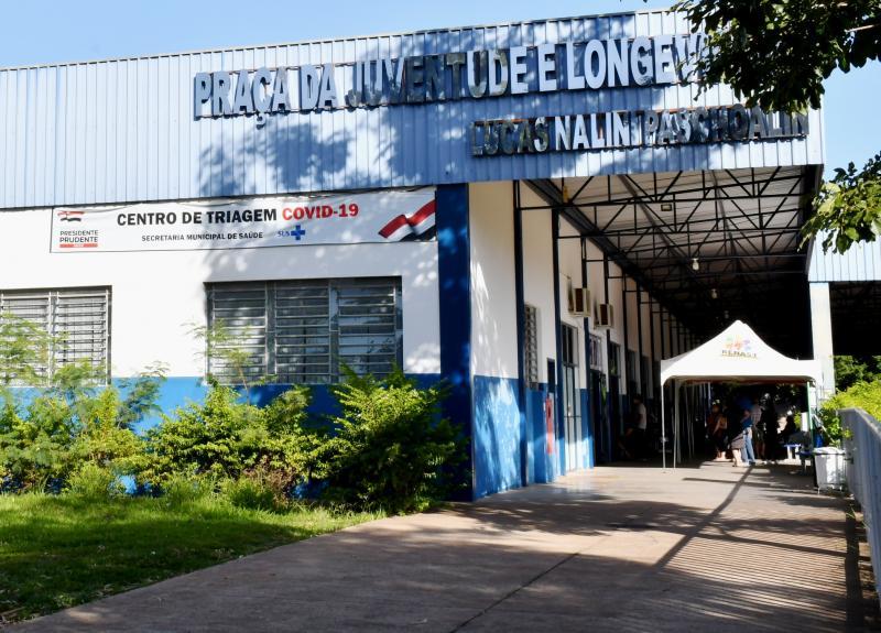 Marcos Sanches/Secom - Centro de Triagem da Covid-19 continuará funcionando na Praça da Juventude e Longevidade da Cohab
