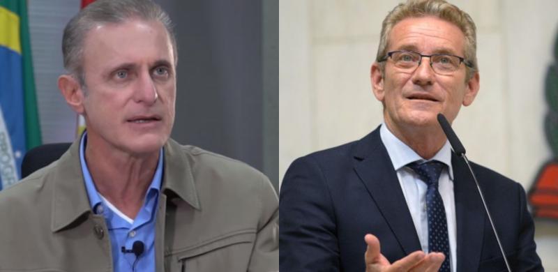 Reprodução - Bugalho e Ed Thomas divergem sobre processo de transição do governo