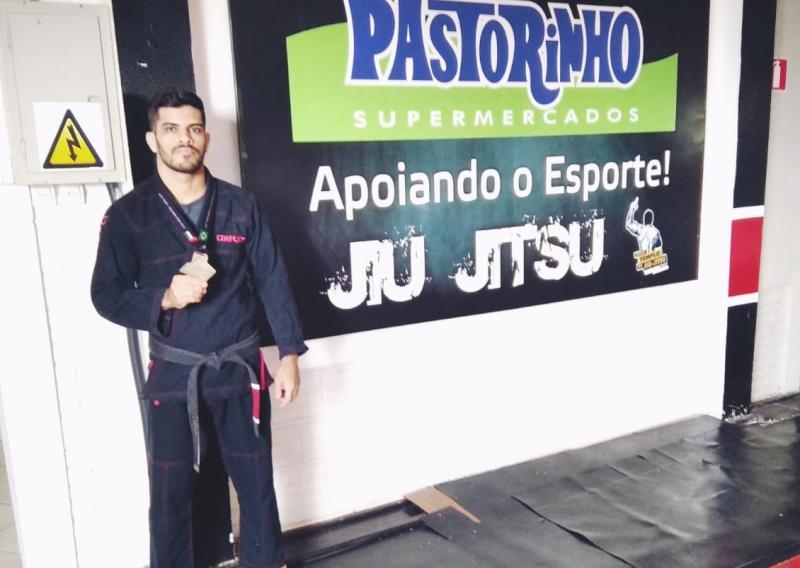 Cedida - Jonatan Pereira Gonçalves ficou em 3º lugar na seletiva em Brasília