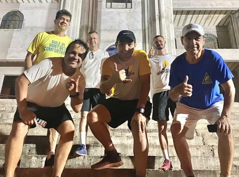 Marcelo, Gilson, Fernando, Ronaldo, Gabriel Gigante e Juvenildo