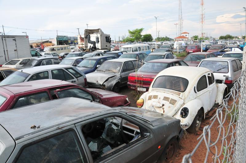 Empresa iniciará a transferência dos mais de 2 mil veículos para o novo pátio
