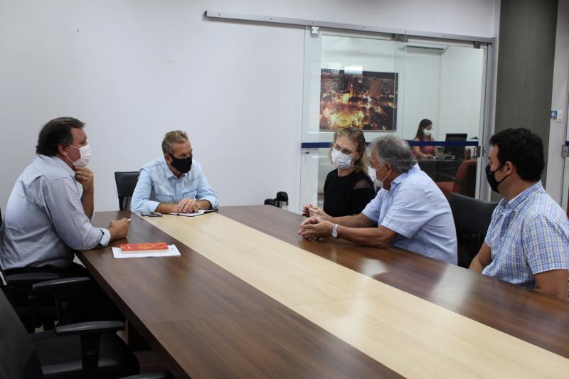 Diretoria da Prudente Urbano se reuniu ontem com Ed Thomas e Jorge Duran