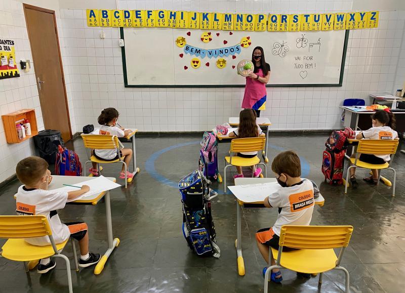 Retorno presencial tem respeitado medidas de segurança nas escolas