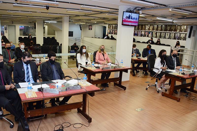 Legislativo definiu composição de 10 comissões permanentes