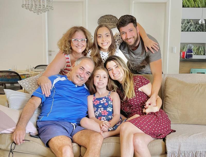 Bárbara Jardim mora em Dubai e veio passar o final de ano com a família, em Prudente.