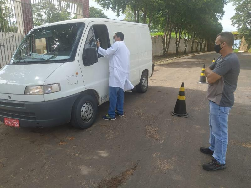 Anastácio instalou barreira sanitária no acesso a Ribeirão dos Índios