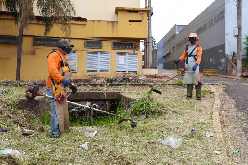 Ação trata-se de toda a setorização do município para a execução de serviços de zeladoria