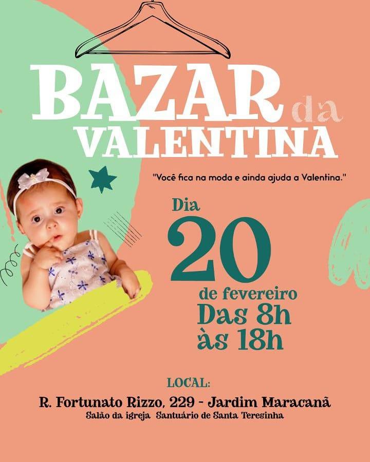 Mais de 3 mil itens foram doados para a realização do bazar