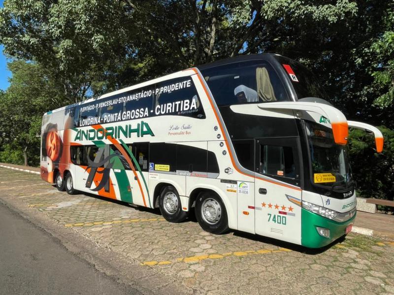 Ônibus que fará itinerário Epitácio – Curitiba reúne tudo o que há de mais moderno