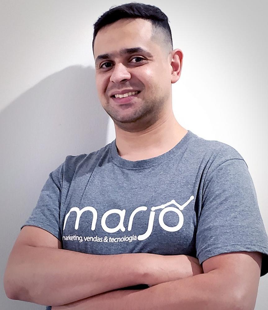 João Diomasio montou sua própria agência, a Marjô Marketing, Vendas e Tecnologia