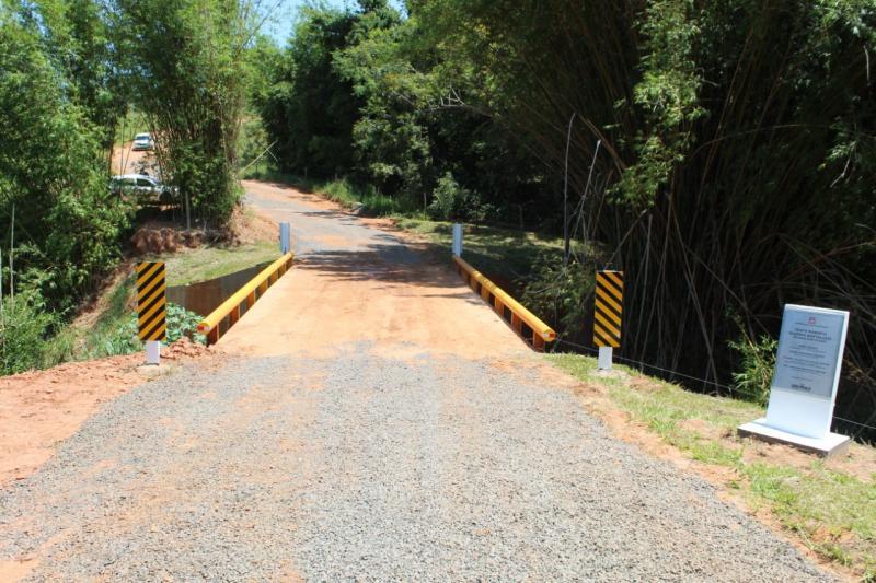 Obras da ponte foram concluídas no final do ano passado