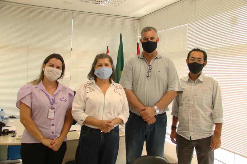 Diretores do Carimestiveram reunidos com o secretário municipal de Saúde, Delton Ferraz