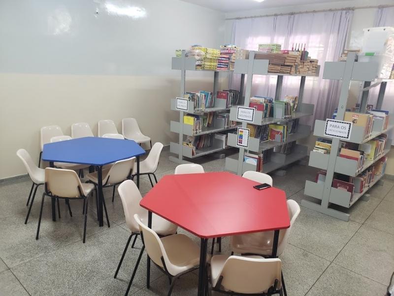 Sala de Leitura é uma ferramenta importante para o desenvolvimento da educação das crianças