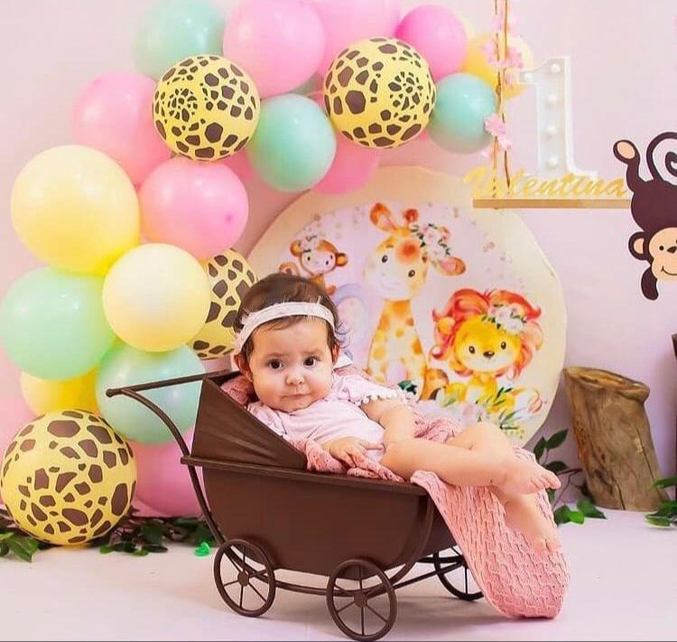 A boneca Valentina Domingues Brandini celebra seu 1º aninho de vida