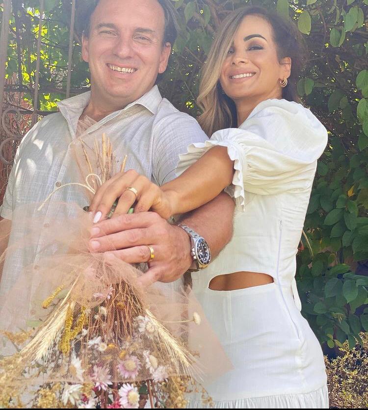 Muito amor para os recém-casados, Eva e Rogério Stuani