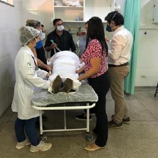 Equipe de médicos e enfermeiros participou da capacitação