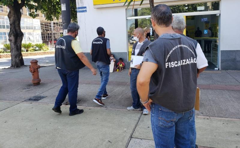 Fiscais da Sedepp percorreram as principais unidades da cidade