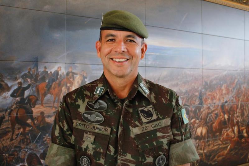 Desde janeiro de 2020 ele comanda o 28º Grupo de Artilharia do Exército, em Santa Catarina