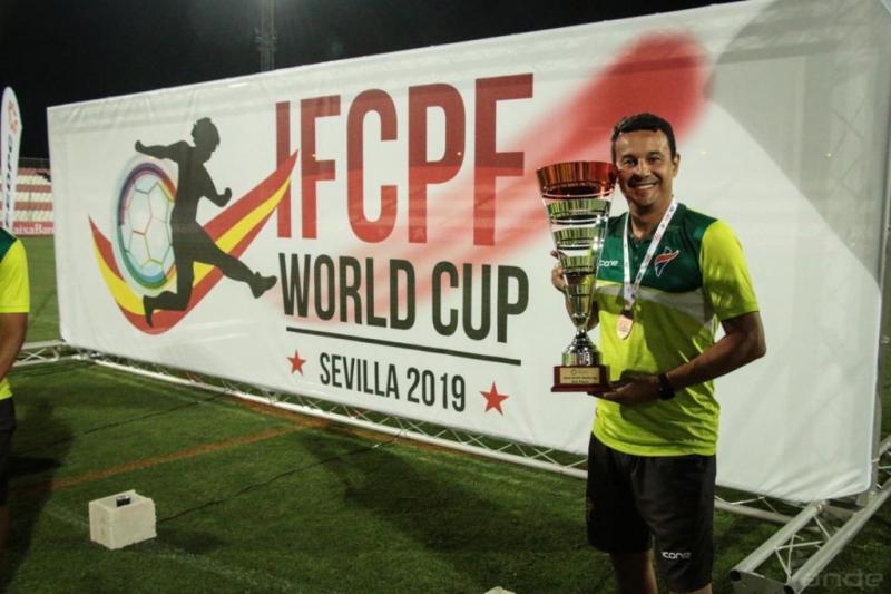 Médico já teve a oportunidade de representar o Brasil em outras competições