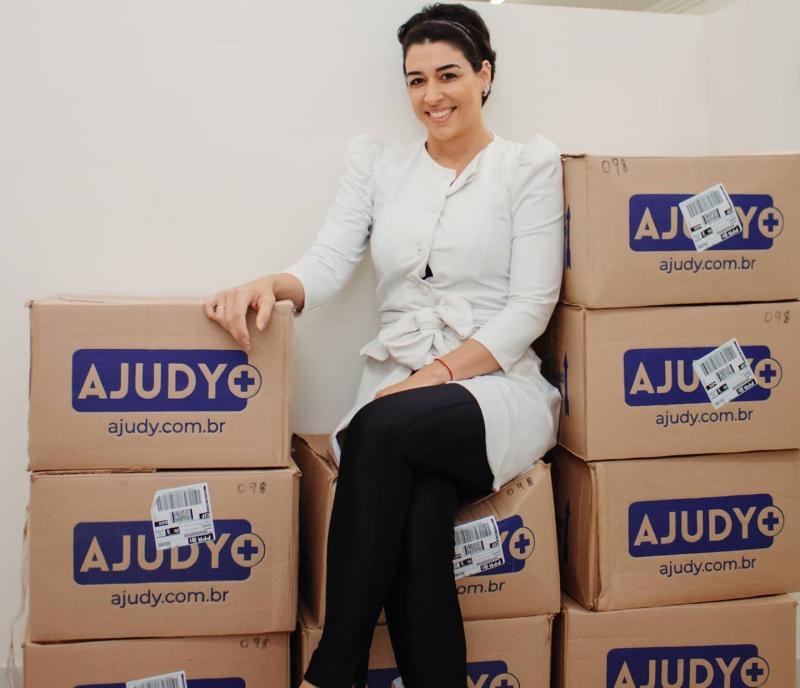 Raquel (conta) que itens de proteção foram doados pela marketing digital e ex-BBB, Sarah Andrade