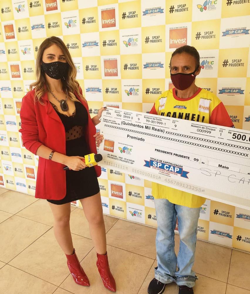 Moradora de Epitácio faturou o quarto prêmio no último domingo