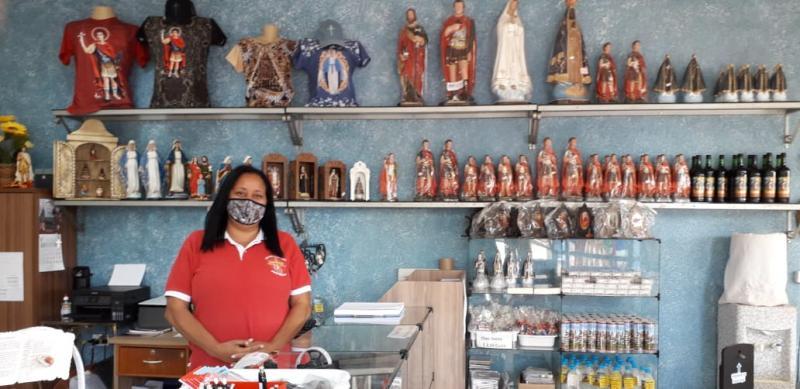 Loja de lembranças da Igreja de Santo Expedito