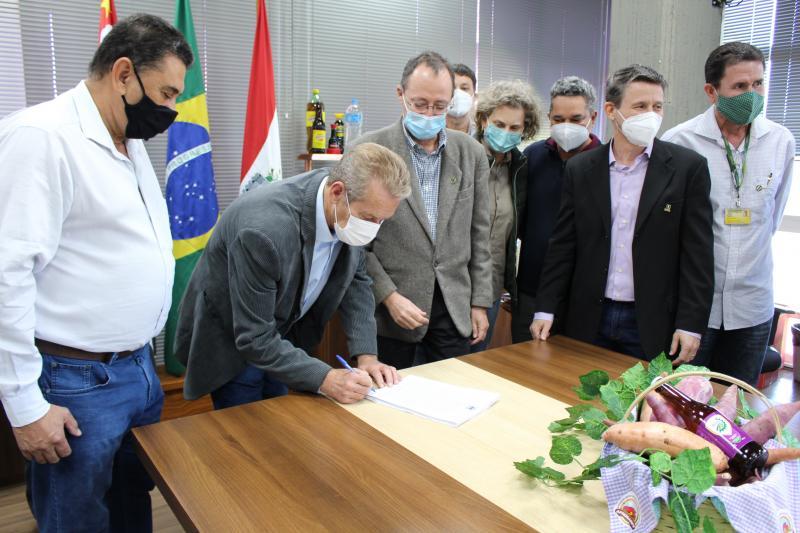 Acordo de cooperação técnica foi assinado na manhã desta terça-feira