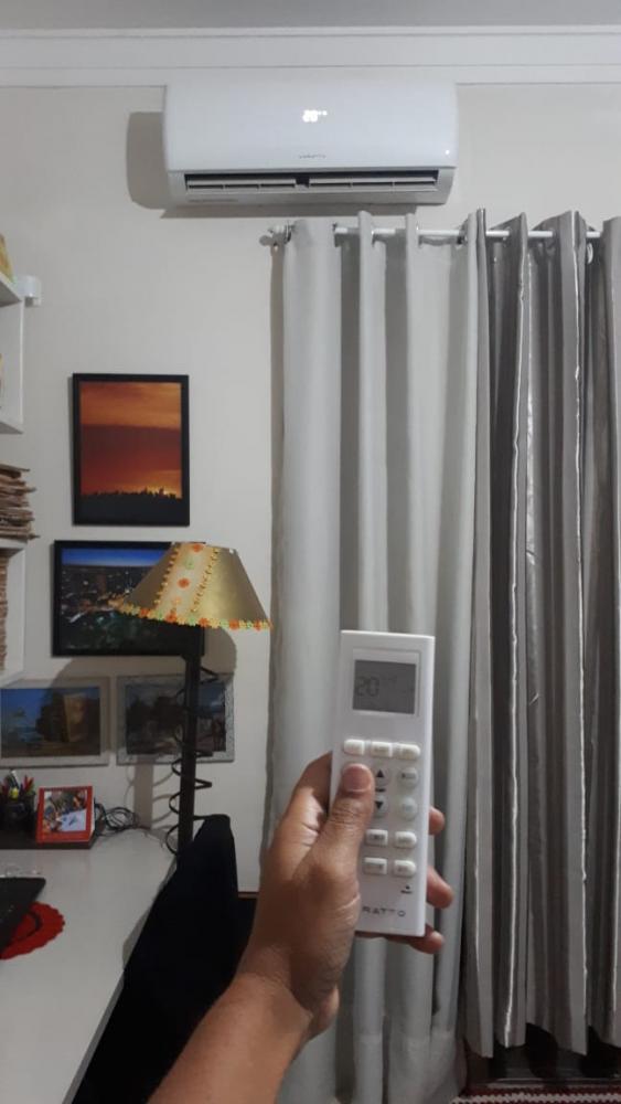 O uso de um ar condicionado contribui para o aumento doconsumode energia em cerca de 30% durante o período mais quente do ano