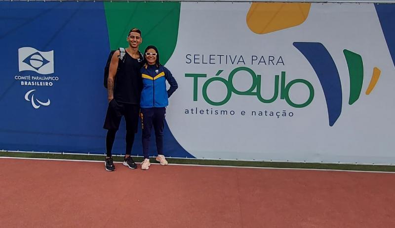 """Com marca de 11""""99, Jerusa assume o primeiro lugar no ranking mundial T11 feminino"""