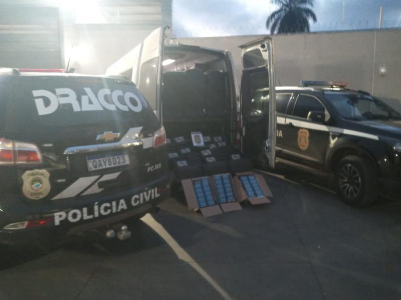 Veículo foi abordado ontem, durante ação desenvolvida em Campo Grande