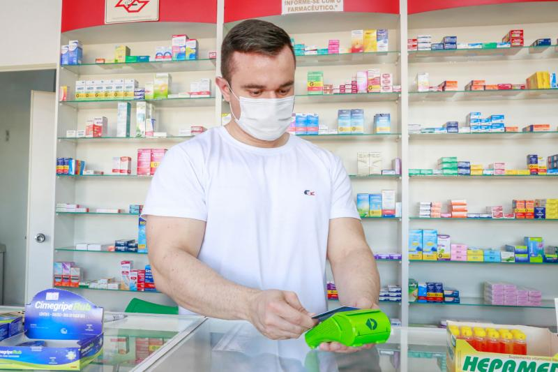 Carlos Renan diz que na farmácia, 95% dos que utilizam esse tipo de pagamento são jovens