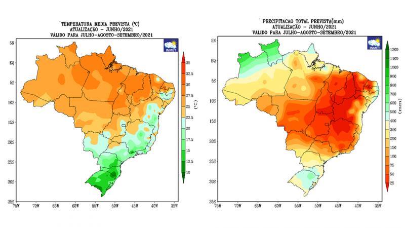 Inverno no oeste paulista é caracterizado pelo período seco e pelas baixas temperaturas