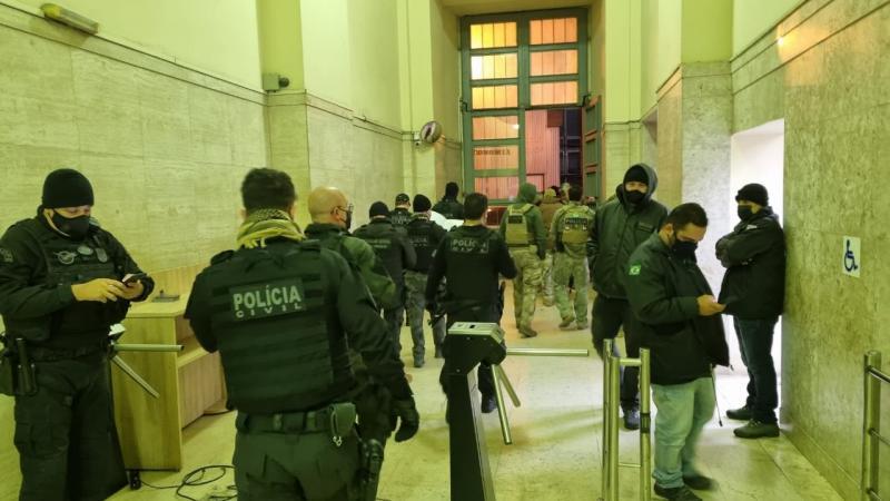 A investigação começou no dia 13 de maio após um golpe aplicado em Pirapozinho