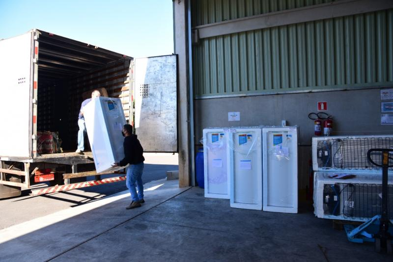 Entrega dos equipamentos foi realizada na manhã desta quarta-feira, na sede da empresa em Prudente