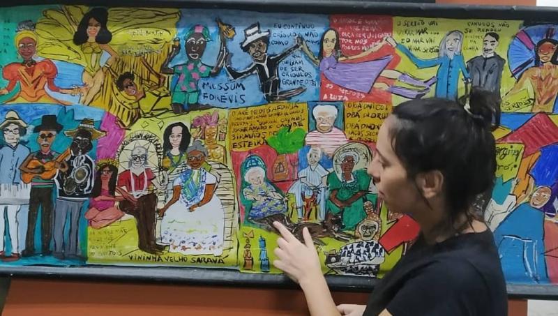 A artista visual Juliana Scorzza, de Presidente Prudente