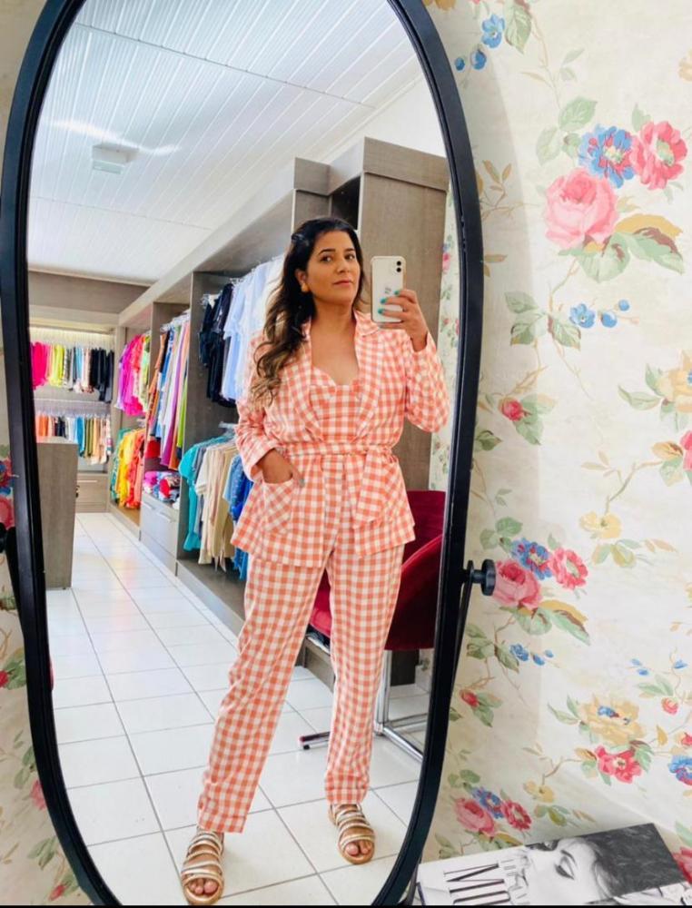 Priscila Percinoto Ziedas, da Pri Store, garimpou várias tendências para sua boutique