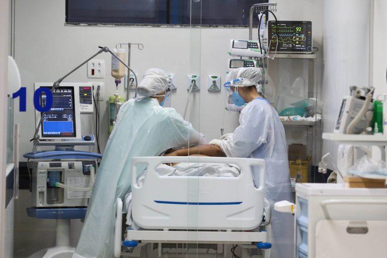 Covid-19: 44 moradores estavam internados em terapia intensiva na data de ontem