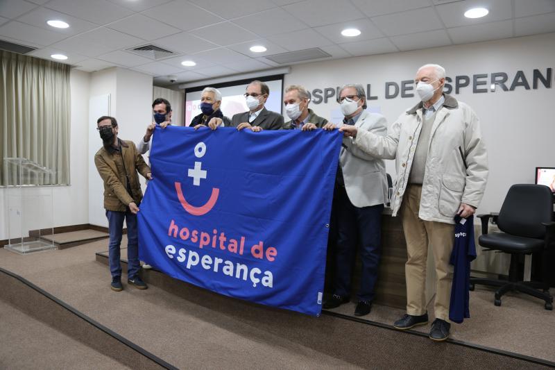 Campanha busca divulgar o nome do Hospital de Esperança