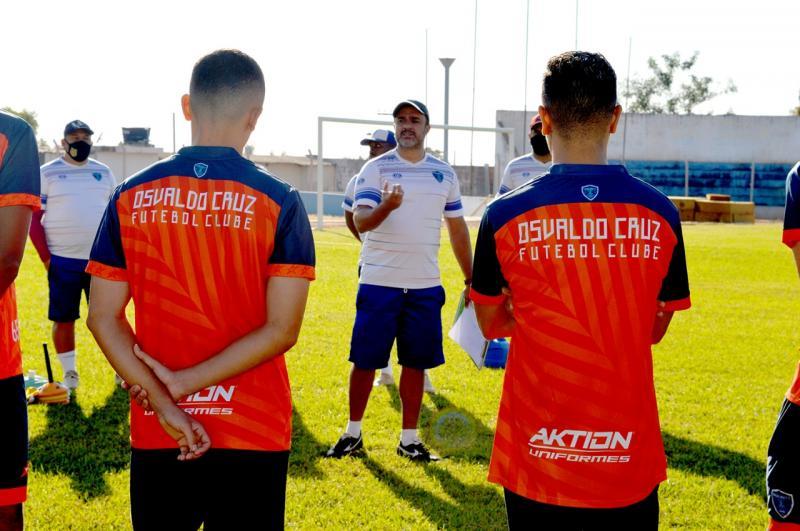 Marcelo Dias expõe que tem gostado da entrega dos jogadores, agora é colocar em prática nos jogos