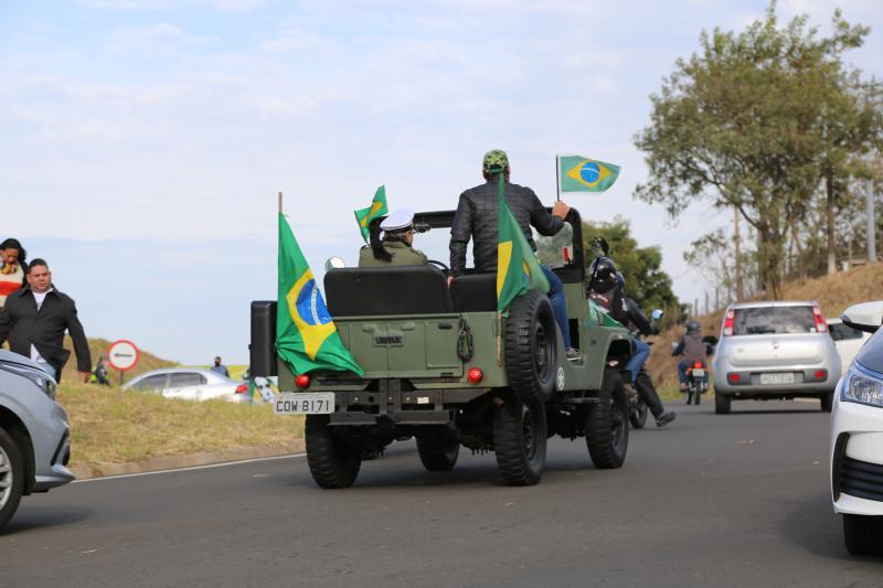 Bolsonaro chega para cumprir agenda em Prudente