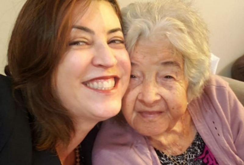 Arlene Correia e avó d. Alice Amélia Correia