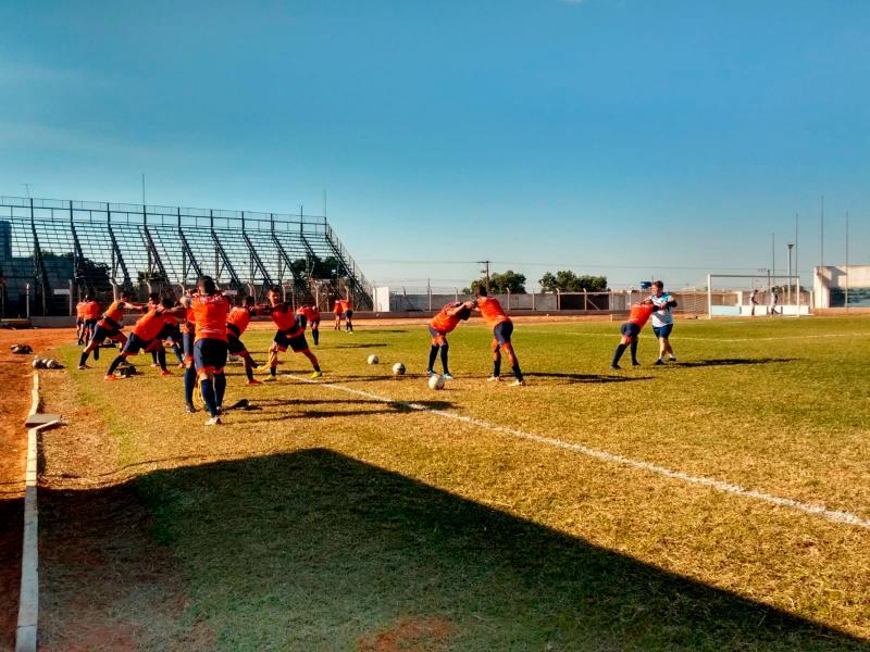 Equipe do Osvaldo Cruz foca nesta reta final na parte tática antes da competição
