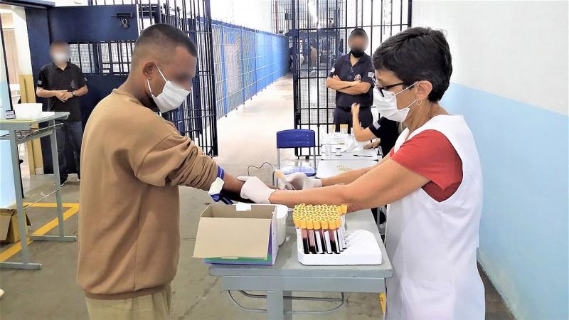Campanha de vacinação avançará neste mês em 178 presídios paulistas