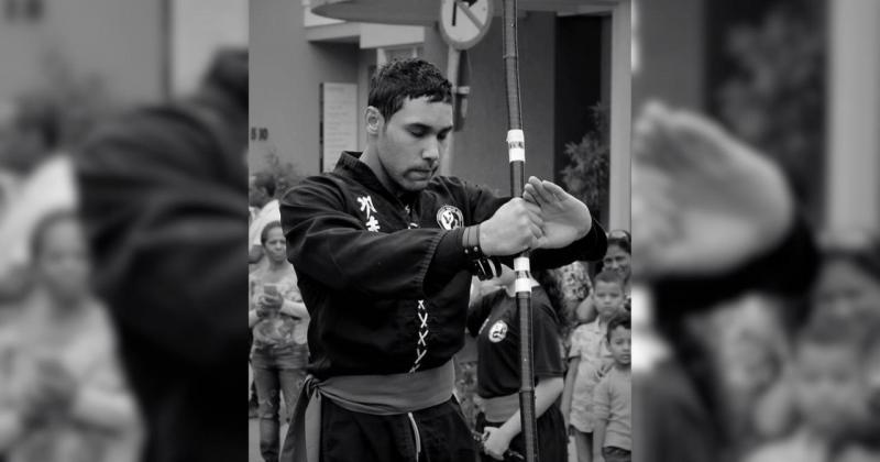 Luiz Henrique Tomaztinha 26 anos, era instrutor de kung fu e atleta da Semepp