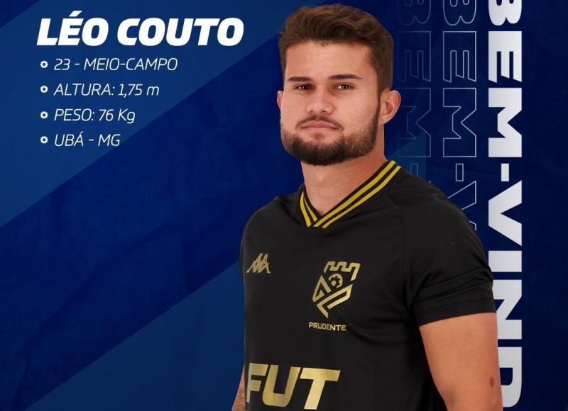 Ele tem 23 anos e erá reforçar o elenco para a disputa do Paulista da Segunda Divisão