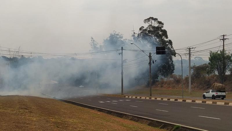 Fim do inverno tem sido marcado por estiagem prolongada e queimadas na região